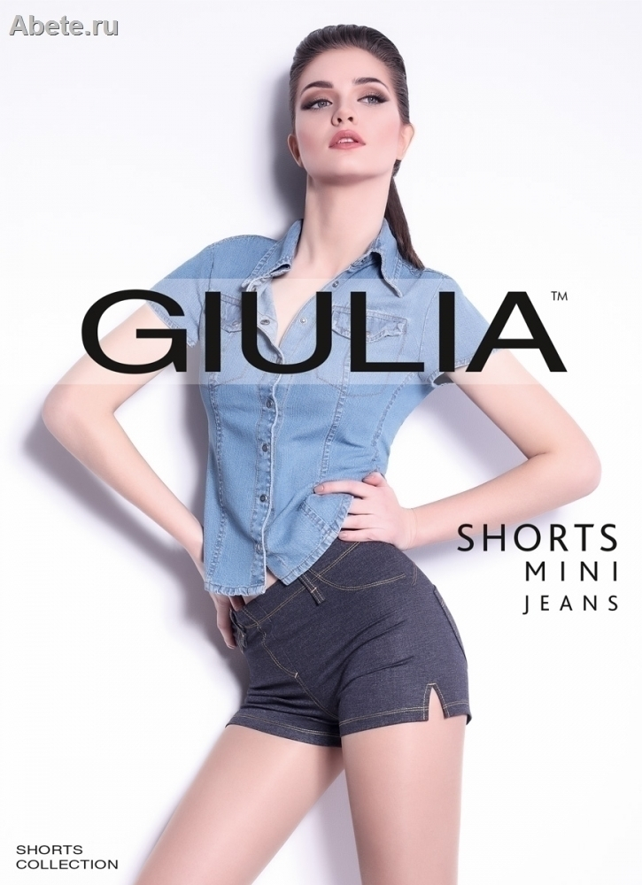 GIULIA Shorts Mini Jeans model 4