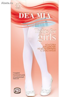 DEA MIA Tights for Girls 40 den