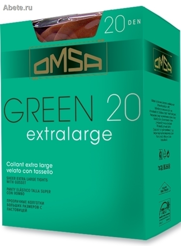 OMSA Green 20 extralarge